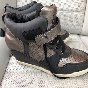 Rampage Heeled Sneakers